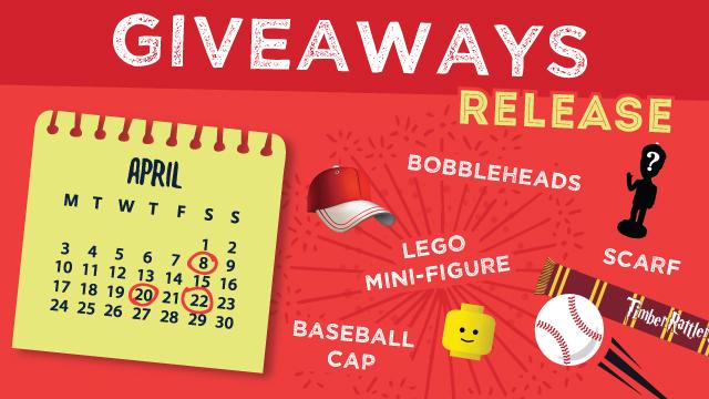 Calendar giveaways