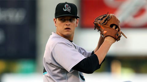 Justin Nicolino is 1-0 with a 0.53 ERA in his last three starts.