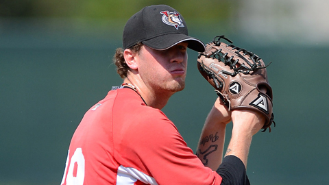 Evan Grills is 7-1 with a 3.34 ERA in 16 games for Tri-City.