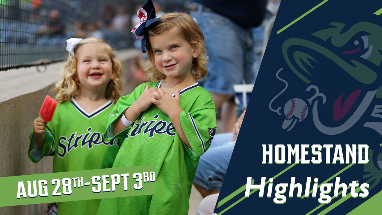 7cfd77991d949 Gwinnett Stripers Homestand Highlights  August 28-September 3 ...