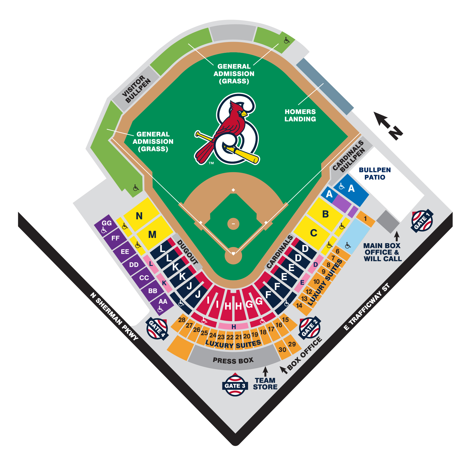 Red Access Springfield Cardinals Cardinals