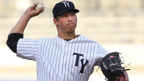 James Kaprielian has a 2.45 ERA and 36 strikeouts over 29 1/3 innings as a Minor Leaguer.