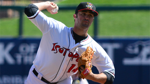 Matt Magill is 1-0 with a 2.16 ERA in five Pacific Coast League starts.