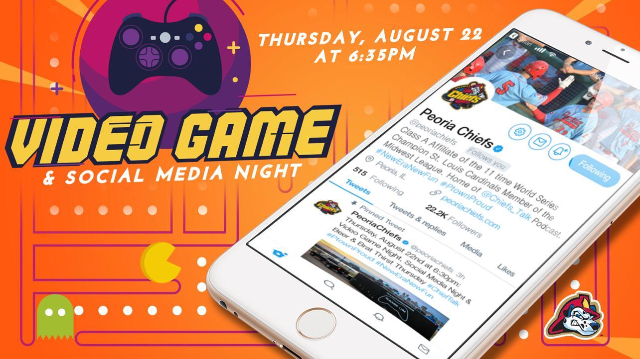 video game night media wall