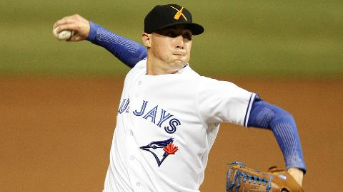 Aaron Sanchez hasn't held opponents to a .088 average in the AFL.
