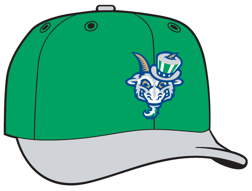 5de96dfbd84 The Goats burst onto the Minor League scene with their name and logos ahead  of the 2016 season