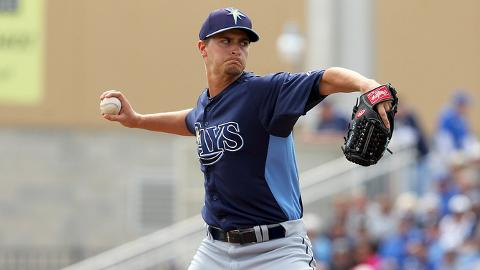 Jake Odorizzi went 15-5 with a 3.03 ERA in 26 starts last season.