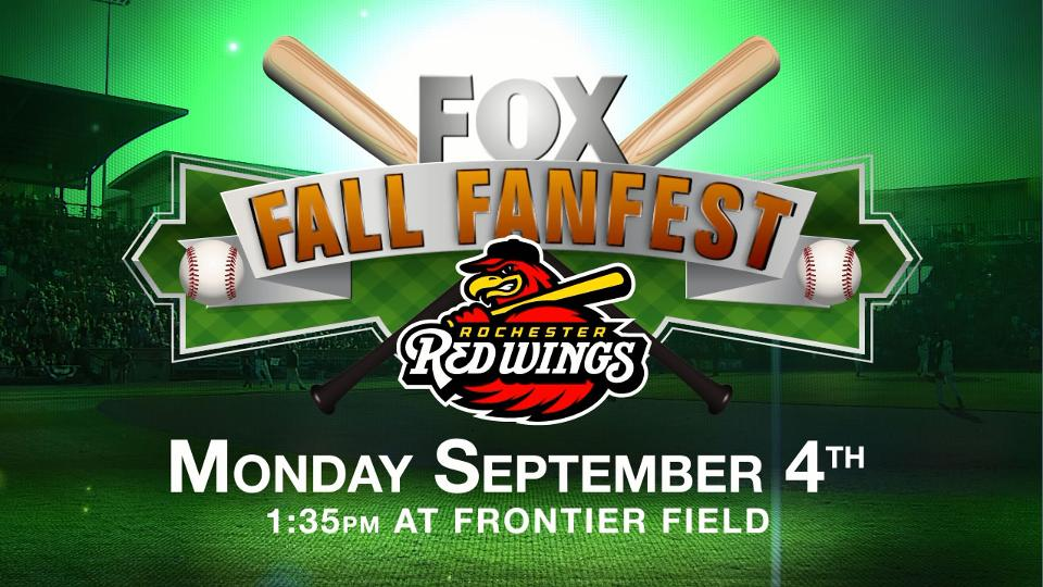 FOX Fall Fanfest Sept. 4 | Rochester Red Wings News