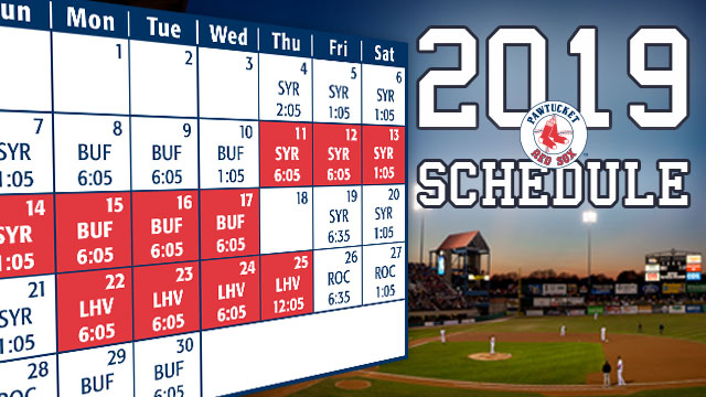 e16051ec850 PawSox Opening Night at McCoy is Thursday