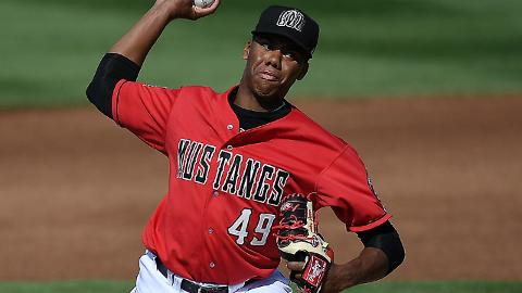 Hunter Greene was limited to four innings over three starts in his debut season.