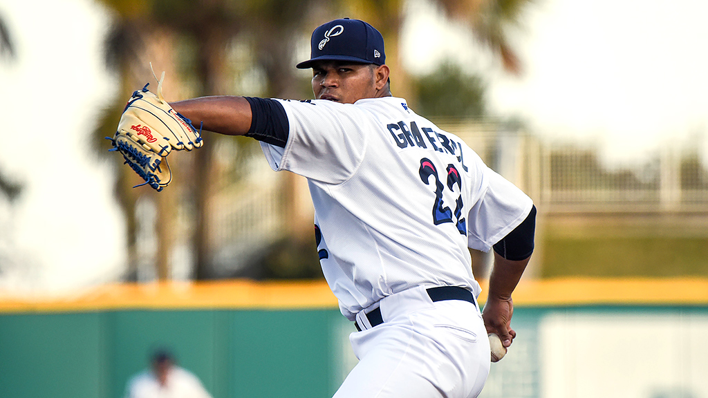 Graterol putting on a show for Blue Wahoos