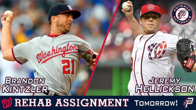 Washington Nationals Pitchers Jeremy Hellickson and Brandon Kintzler to Rehab with Potomac Sunday Afternoon | MiLB.com