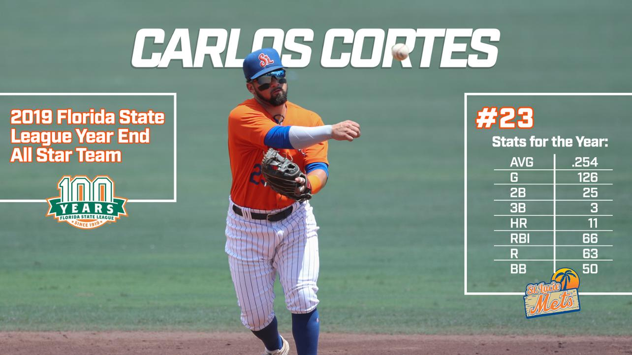 Cortes Named End-of-Season FSL All Star