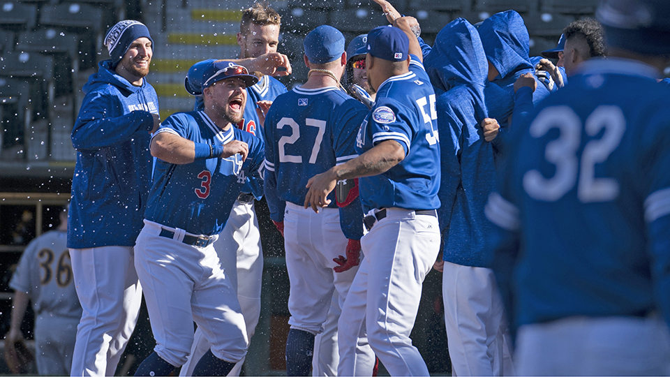 Verdugo walks it off in only at-bat of game | MiLB com News