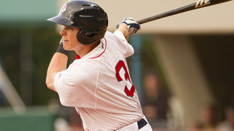 Brock Holt hit .258 in 85 games for Pawtucket in the 2013 season.
