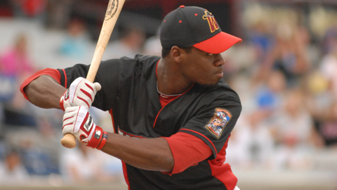Travis Witherspoon has four homers and 31 steals at the All-Star break.