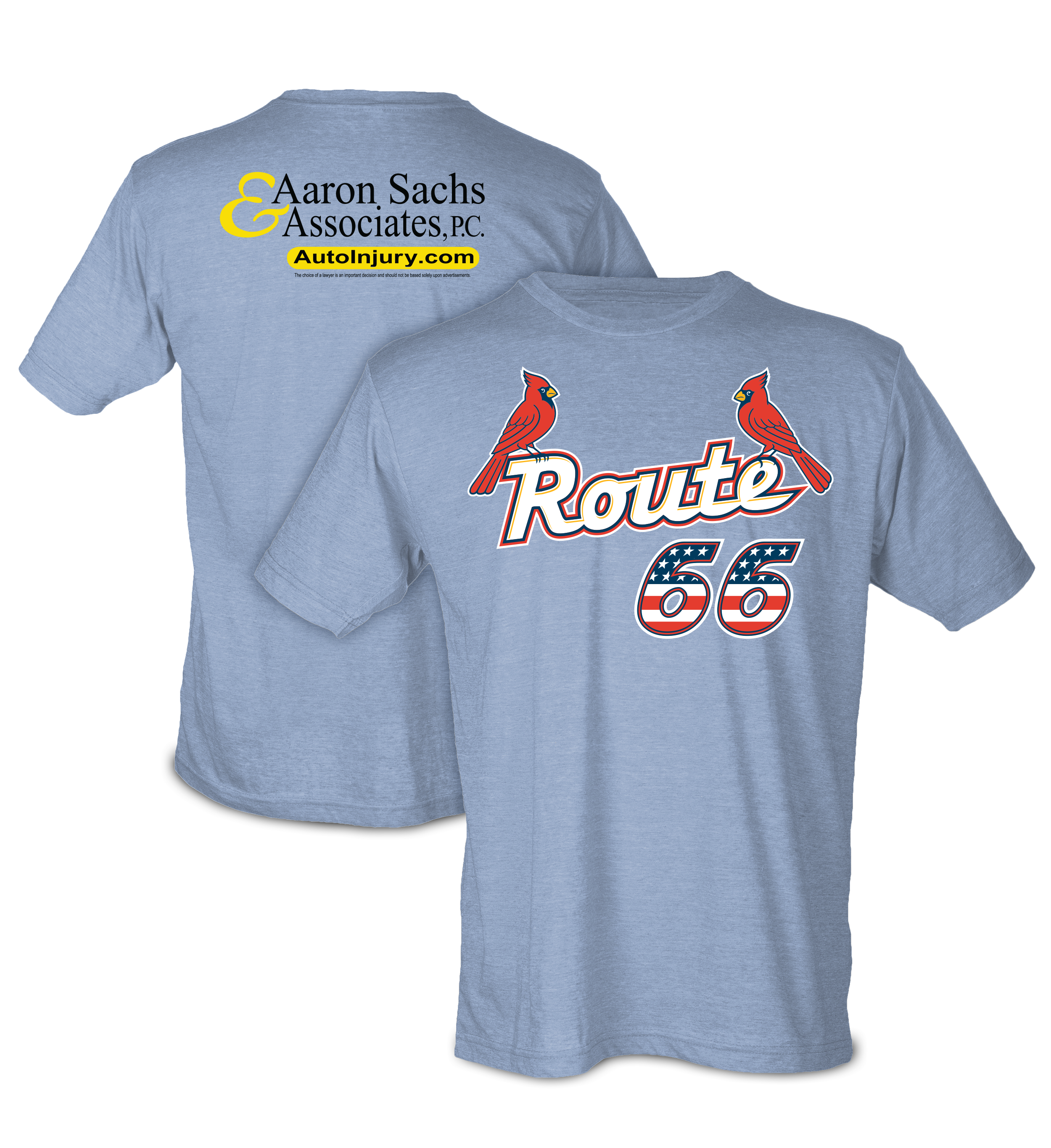 a98639ac5 ... specially designed and Springfield Cardinals themed Route 66 shirt to  their wardrobe