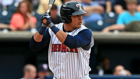Avisail Garcia hit for the cycle for Triple-A Toledo on July 7.