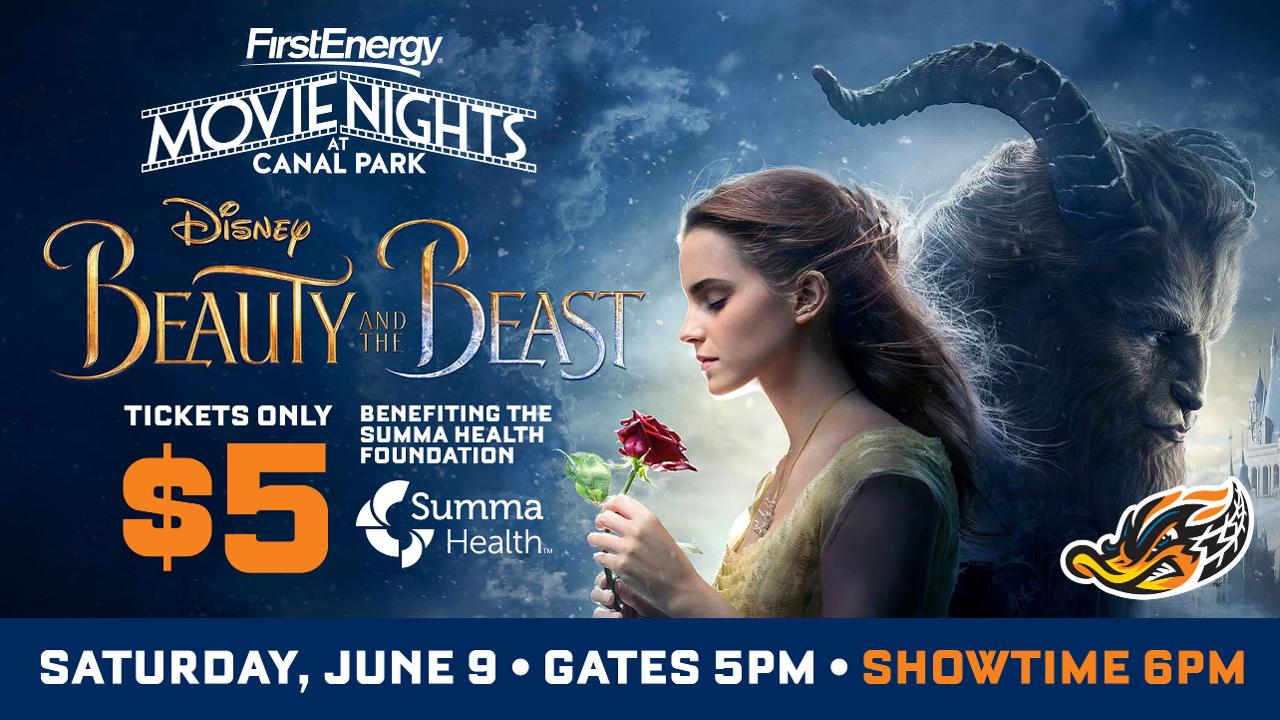 Movie Night 1 Quot Beauty And The Beast Quot June 9 Rubberducks