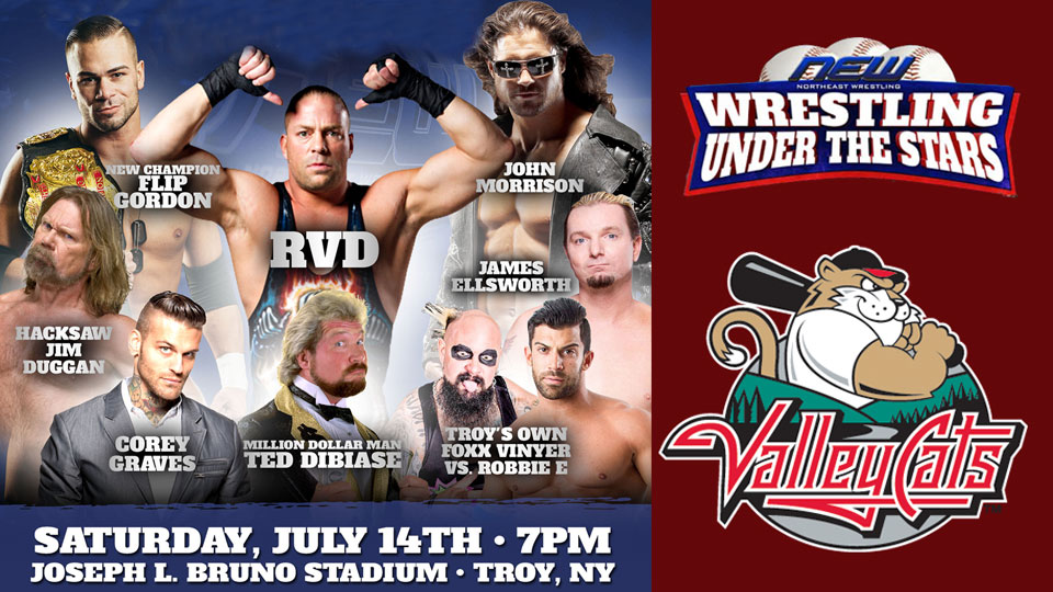 Wrestling Under the Stars at | Tri-City ValleyCats News