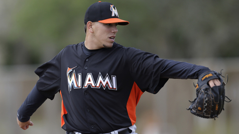 Jose Fernandez average 10.61 strikeouts per nine innings last season.