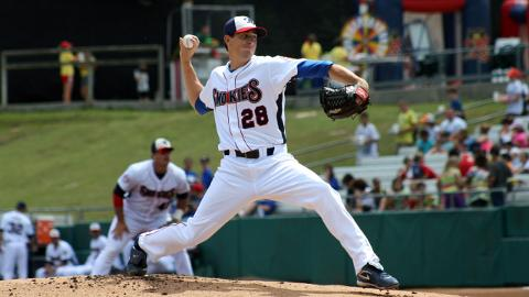 Kyle Hendricks is one of 25 Smokies alums invited to Cubs Spring Training.