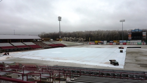 Icy weather forces Rattlers to call off Wednesday's doubleheader with Cedar Rapids.