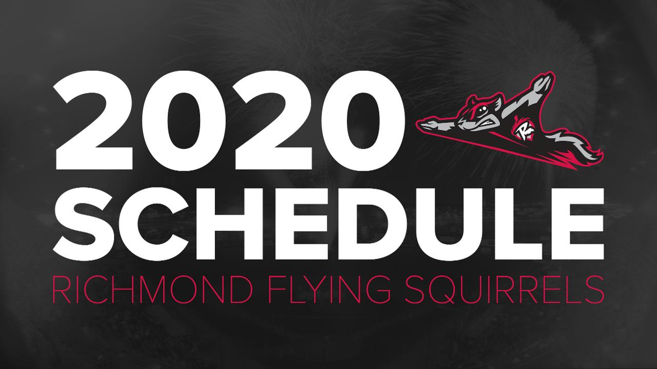 Harrisburg Senators 2020 Schedule Flying Squirrels announce 2020 schedule | Richmond Flying