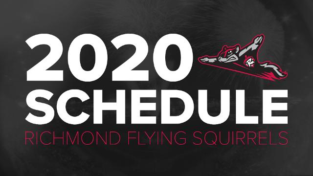 Flying Squirrels Schedule 2020 Flying Squirrels announce 2020 schedule | Richmond Flying