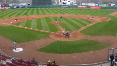 The Timber Rattlers dropped a pair of games to the Cedar Rapids Kernels Tuesday night at Perfect Game Field at Veterans Memorial Stadium.
