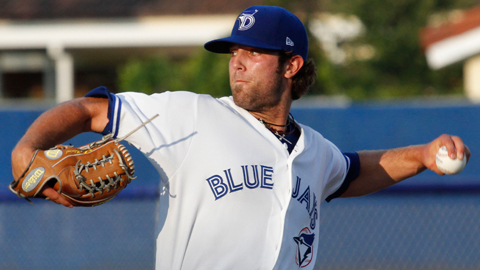 Daniel Norris faced three batters over the minimum for Dunedin on Friday.