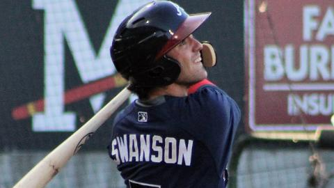 Dansby Swanson hit .261 with eight homers and 45 RBIs in 84 games with Mississippi last year.