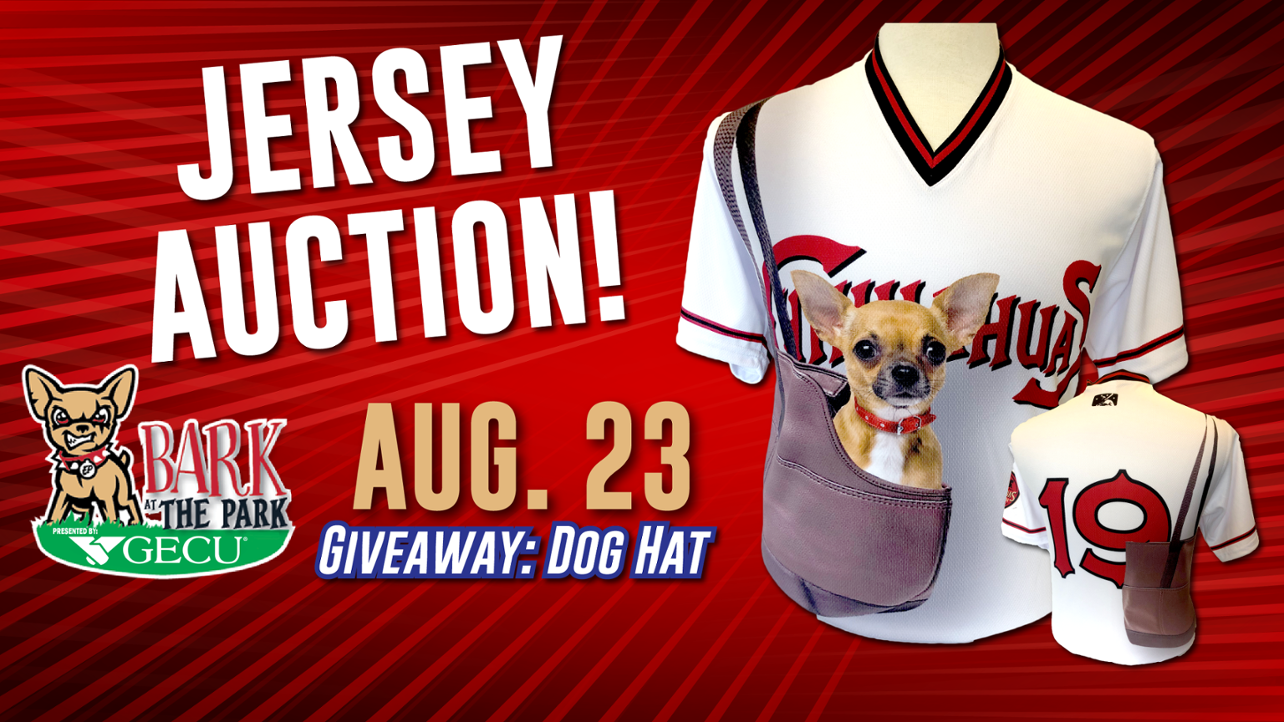 Chihuahuas Unveil GECU Bark at the Park Jerseys