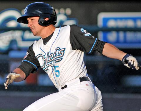 Chris Rahl homered, doubled and collected three hits on Friday night.