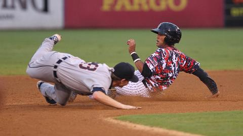 Mason Williams went 1-4 with an RBI and a stolen base.