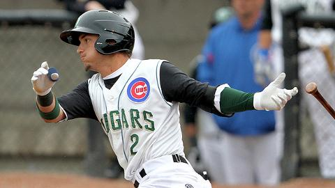 Cubs No. 2 prospect Albert Almora hit .329 in 61 Class A games this season.