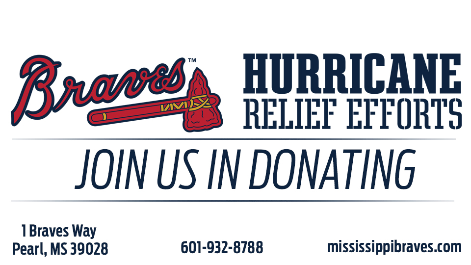 M-Braves Collecting Food and Supply Donations for Hurricane