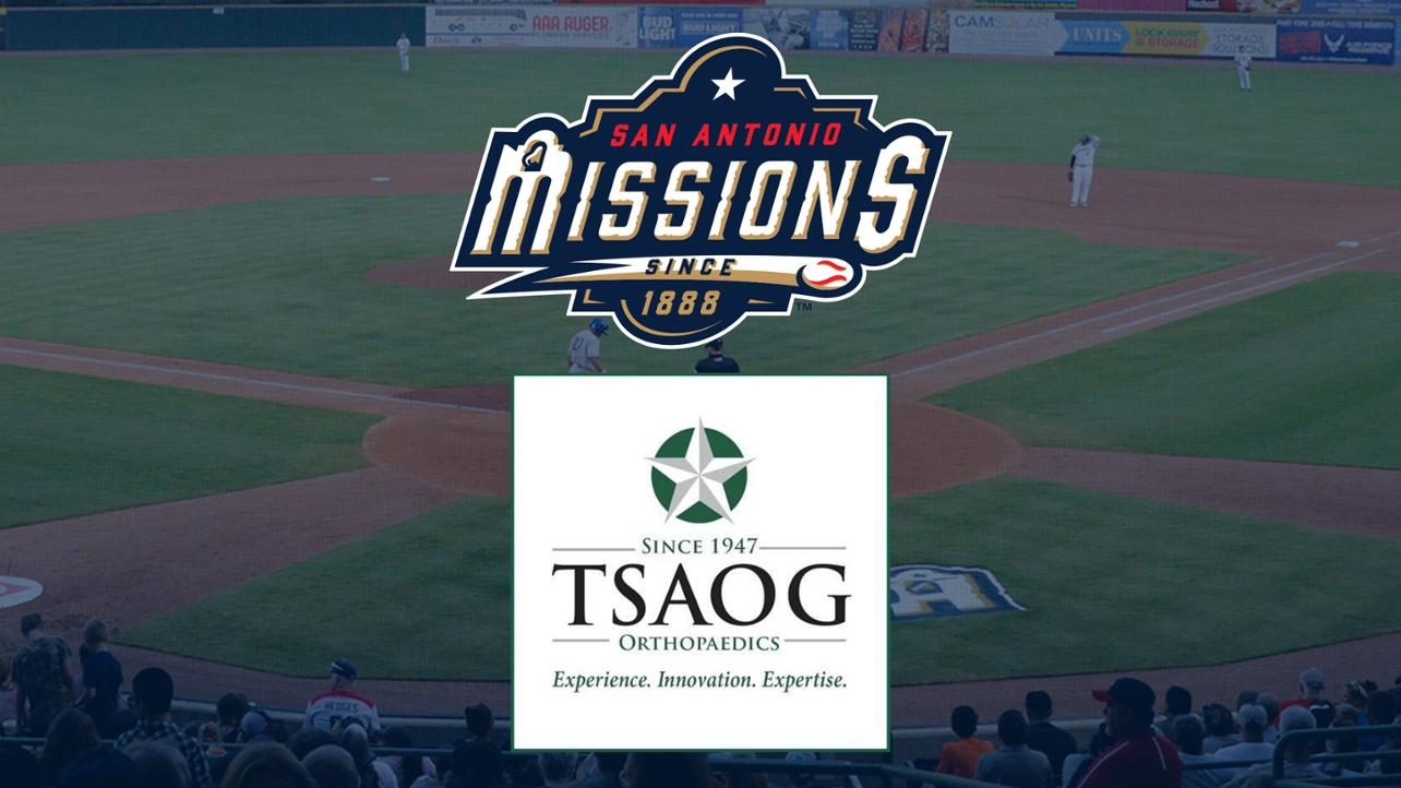 San Antonio Missions Announce Partnership With TSAOG Orthopaedics