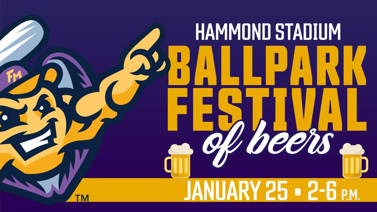 Ballpark Festival of Beers Home