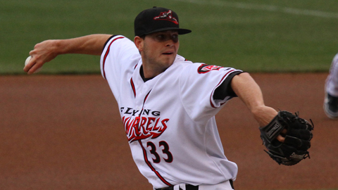 Chris Heston allowed three runs in five innings but finished with a 2.24 ERA.