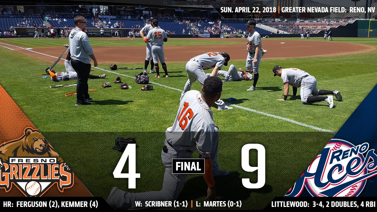 Grizzlies\' 8-game win streak vs. Reno snapped on Sunday | Fresno ...