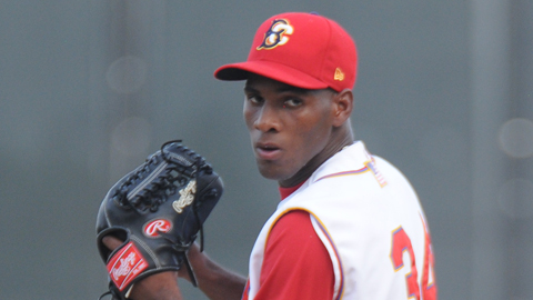 Luis Mateo entered the year with 165 strikeouts in 136 1/3 Minor League innings.