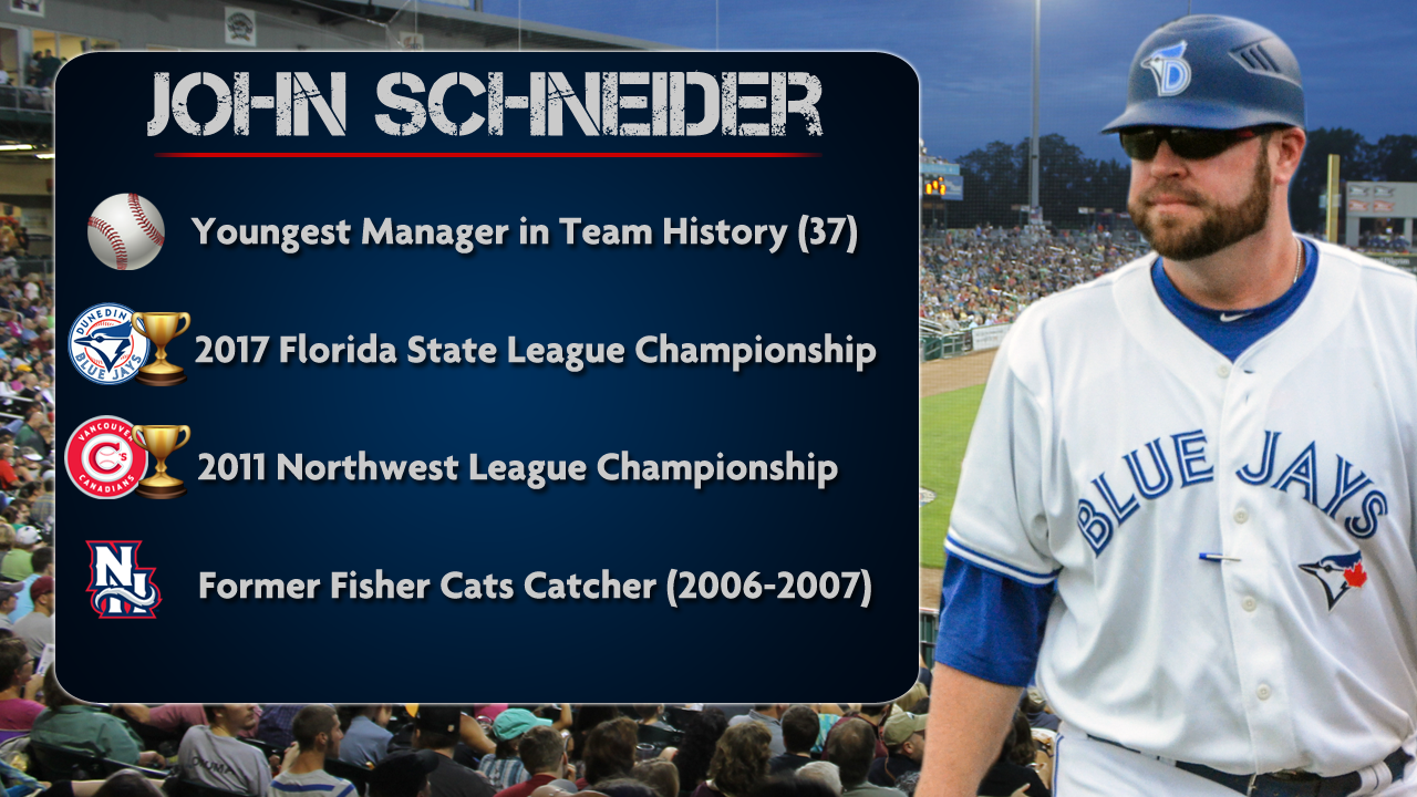John Schneider To Lead Fisher Cats In 2018 Fisher Cats