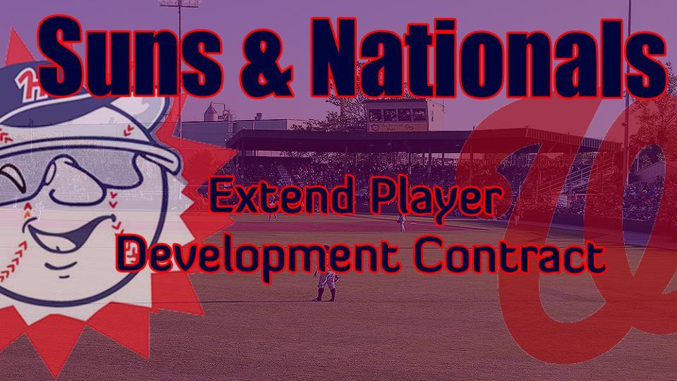 Suns, Nationals Extend Player Development Contract Through 2020