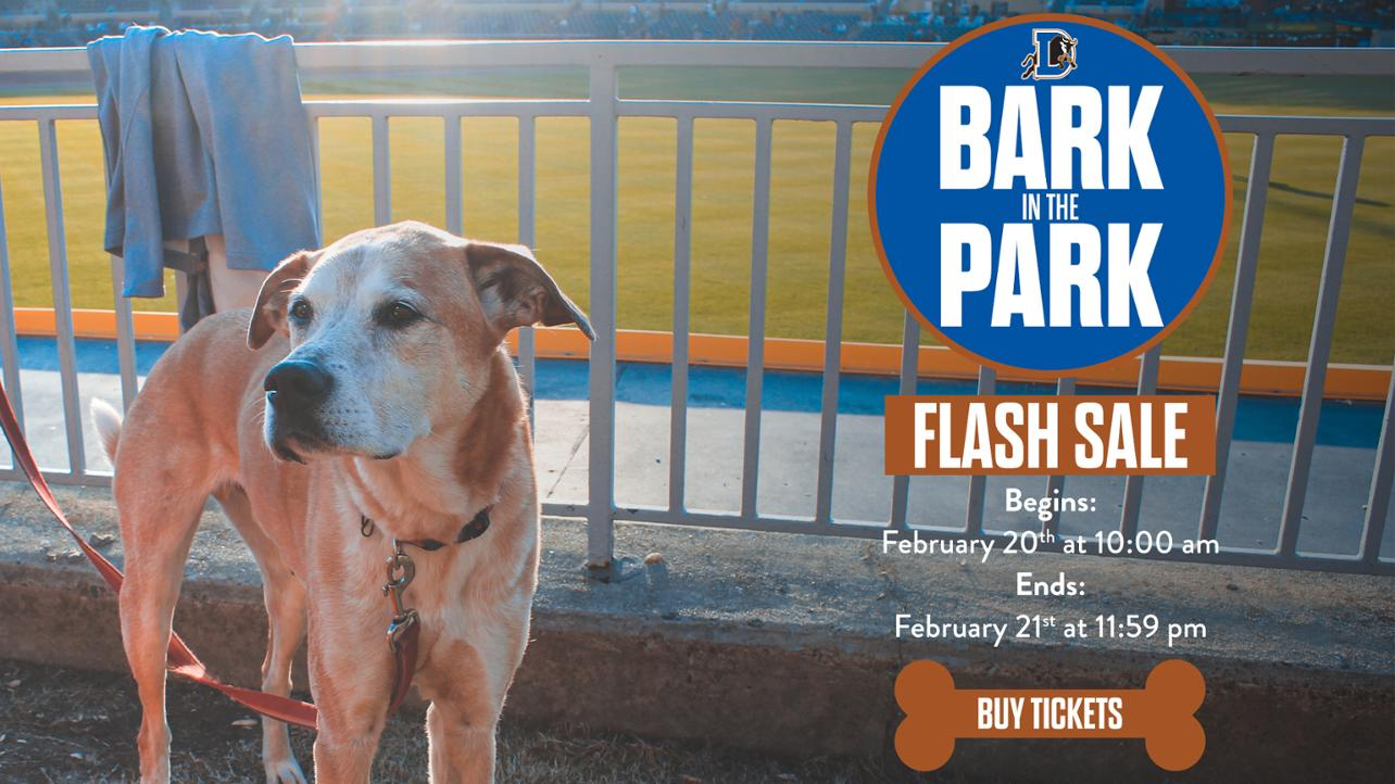 Bark in the Park MW