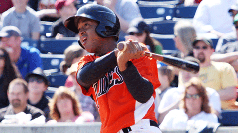 Jonathan Schoop had a .717 OPS for Norfolk before a May injury.