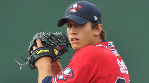 Lucas Sims' 134 strikeouts were fourth in the South Atlantic League.