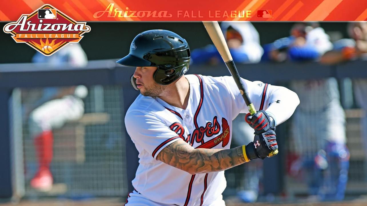 Braves' Davidson blasts walk-off home run to give Peoria AFL title