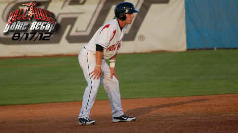 Ryan Jones had three RBIs on two hits and his first professional home run.