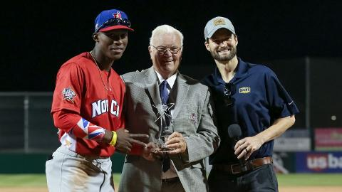 In his first professional season, Dairon Blanco waltzed off with BUSH'S® All-Star MVP honors.